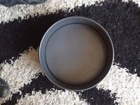 Large Cake tin - 12ins diameter, with removable base