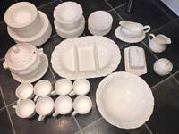 M&S Dinner Set (over 50 pieces)