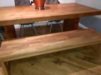 Barker & stonehouse oak dining bench .. kitchen/dining room