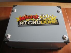 Microstars Microdome with player figures and footballs
