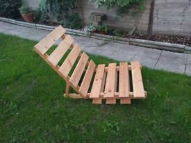 Single Futon Bed / Chair - IKEA - frame only