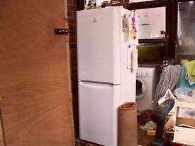 indesit fridge freezer good condition
