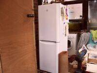 indesit fridge freezer good condition