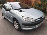 2005 Peugeot 206 90bhp 1.4 Petrol 5 speed