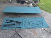 2 folding camp beds