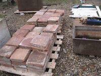 "old 9""x9""floor pammets 150 £4 each or £450 the lot o.n.o."
