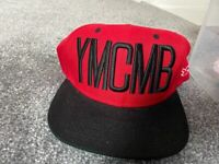 Red YMCMB Snapback