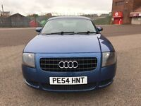 SUPERB*AUTOMATIC*AUDI TT-ALCANTARA LEATHER-FULL SERVICE HISTORY-RARE&VERY NICE EXAMPLE-SPOT ON COUPE