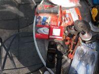 job lot tools and brass/copper