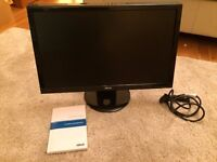ASUS 24 inch Computer LCD Monitor in excellent condition
