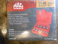 Mac Tools 11 Piece Mixed Drive External Torx Driver Set