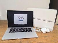 """Apple MacBook Pro Retina 15.4"""" Mid-2015 2.2GHz i7 Quad Core 256GB SSD 16GB RAM"""