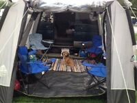 7 seater Mazda Bongo AFT Campervan conversion with driveaway awning