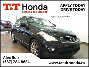 2011 Infiniti EX35 Luxury Leather Interior, XM Radio, Backup Cam