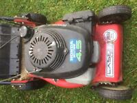 Mountford 16inch self propelled with Honda engine