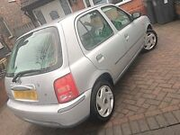 39000 VERY LOW MILEAGE NISSAN MICRA Very Clean DRIVES LIKE NEW Not Yaris Polo Clio
