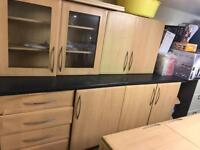 Full kitchen units for sale.