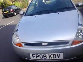 Ford KA Silver 2008 1.3L 3 Door Hatchback £895