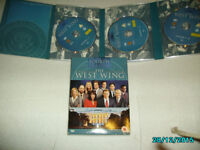 DVD SET OF 6 dvds THE WEST WING