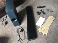 Yamaha YSP-2500 sound bar and sub
