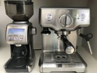 Sage Duo-Temp Pro Coffee Machine + Smart Grinder Pro - Excellent Condition!