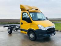 IVECO DAILY 35s12 2.3 HPI 2012(12)REG CHASSIS CAB**COMPANY DIRECT**