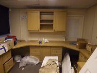 Office Wooden Storage Units Desks Cupboards