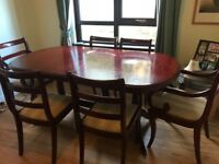 Mc Donagh table and chairs
