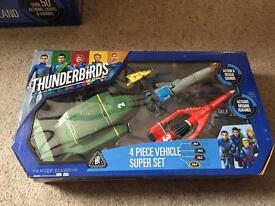 Thunderbirds vehicle bundle and DVDs