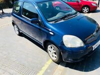 2005 TOYOTA YARIS 1.3 VVT-i Colour Collection 3dr. COOL AC & VERY SMOOTH GEAR BOX. LOW PRICE,URGENT