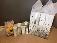 Baby Gift / Childs Farm toiletries / brand new with tags