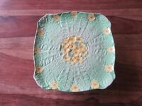 Grimwade's Rubian Art Pottery 'Primula' Cake Stand or Comport c1935