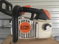 Stihl Ms200t chainsaw