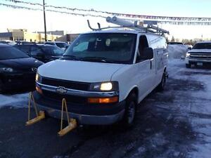 2009 Chevrolet Express 3500 Cargo with Generator