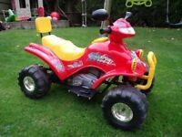 Childs 12V ride-on quad