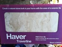 Haver Travertine Wall and Floor Tiles