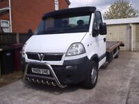 Movano recovery truck