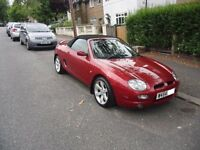 MGF 1.8 VVC Night fire red low mileage