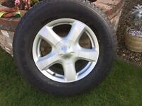 ISUZU D MAX ALLOY WHEELS AND TYRES NEW