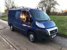 2007 (56) fiat ducato swb van, 120k, 2.2 Diesel, moted ready for work.