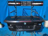 BMW 3 SERIES E93 M3 MSP SE CONVERTIBLE BOOT LID JEREZ BLACK 2007-2012