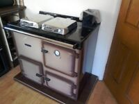 Rayburn nouvelle gas arga for hot water and heating