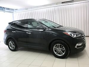 2017 Hyundai Santa Fe SPORT AWD SUV w/ Backup Camera, Sunroof, a