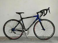 SERVICED (4511) 700c 51 cm GIANT TCR C3 Carbon ROAD BIKE RACER BICYCLE Size S/M, Height: 160-175 cm