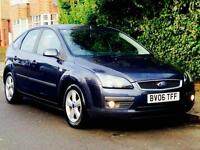 FORD FOCUS 1.6 ZETEC 2006 79k LOW MILEAGE SERVICE HISTORY MOT 3 MONTHS WARRANTY CLEAN&TIDY CALL NOW