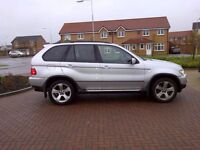"""BMW X5 3.0d SPORT EXCLUSIVE SAME OWNER LAST 9 YRS FSH FULLY LOADED 19"""" ALLOY WHEELS NAV COMMS PACK"""