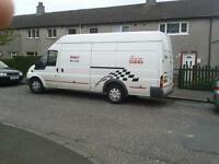 van and driver £20per hr single items