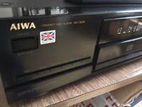 Aiwa XC-333 CD Player - Full Rack Size in Black - Burr Brown DAC - UK made
