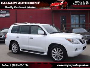2008 Lexus LX 570 4X4/NAVIGATION/B.CAM/3RD ROW/LEATHER/ROOF