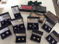 Cufflinks/ bow ties/ Tie pins JOB LOT